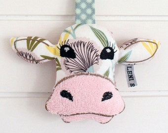 "Cow ""Nele"" toy rattle"