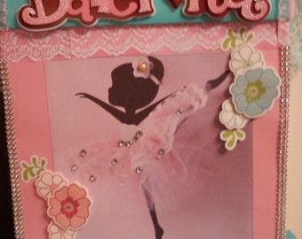 Ballerina Gift Card Box