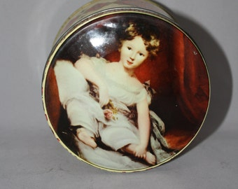 """Vintage Thorne's High Class Confectionery made in Leeds, England Tin """"Master Ainslie"""""""
