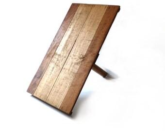 Antique wooden palette Plasterer palette Message board Wooden display Holder or Wooden Tray Book End Antique tool