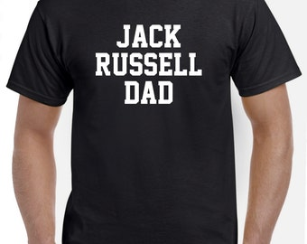 Jack Russell Terrier Dad Shirt Tshirt Gift