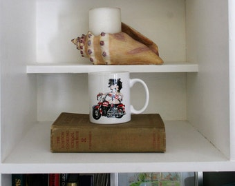 Betty Boop Biker Coffee Mug  Collectible