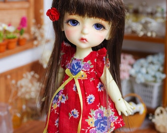 "Lati Yellow/ Puki Fee - ""Dreamy Blossom"" WingDress - Red Color"