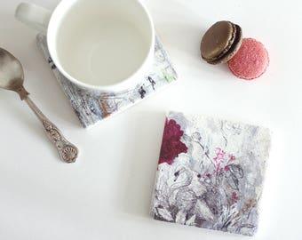 Mute Swan - Stone Tile Coaster