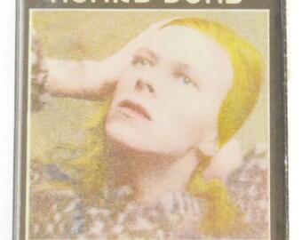 Vintage 70s David Bowie Hunky Dory Album Cassette Tape