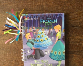 Disney Autograph Book - Frozen Autograph book - Elsa and Anna Autograph Book -  Frozen Journal with blank pages