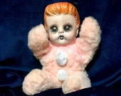 Sylvia Plath Plush Cuddle Dark Undead Poet Biohazard Baby