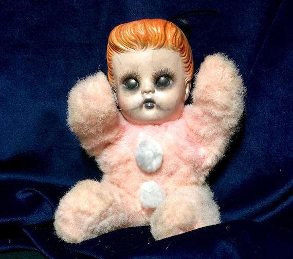 Sylvia Plath Plush Cuddle Dark Undead Poet Biohazard Baby