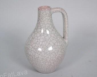 Craquele glazed vase by Karlsruhe Majolika - Germany - 5801