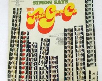 Simon Says 1910 Fruitgum Company Vinyl LP Record Album BDS 5010