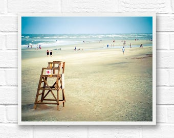 Beach printable photography prints download, beach photography download, ocean digital download, Tybee Island print, Savannah Georgia print