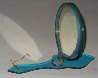 Vanity mirror on stand Etsy