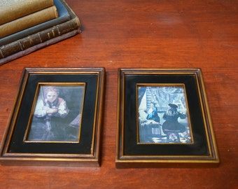 Florentine style Pictures Dutch Masters Framed Art 1950 Illinois Moulding Pictures I Ship Internationally