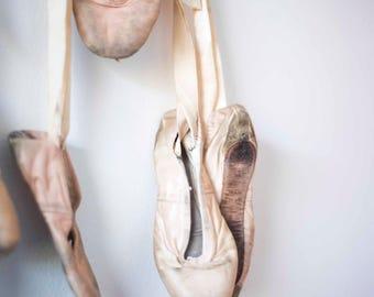 Vintage Ballet Slippers || Ballerina || Shabby Chic Decor