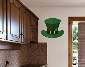 Leprechaun Hat St. Patrick's Day Wall Sticker