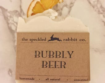 Bubbly Beer Soap
