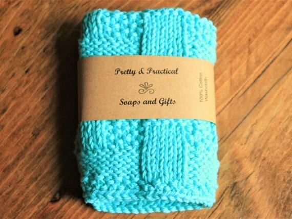 100% Cotton Washcloths, Knitted Washcloth