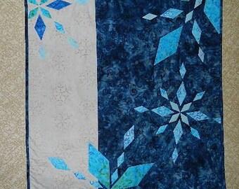Diamond Snowflake Table Topper, Wall hanging