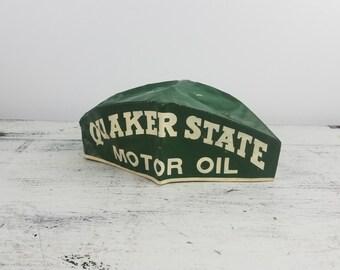 Quaker State Motor Oil, jerk style, gas station attendant/repair