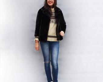 Fake fur coat   Etsy