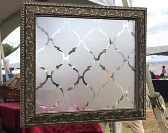 Private Window Cover: Moroccan Style