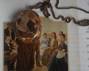 Joseph Smith & Emma Necklace