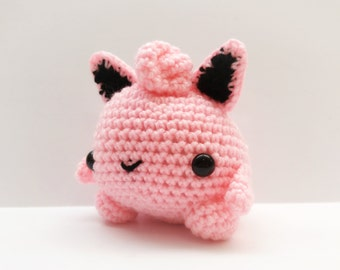 Crochet JigglyPuff Inspired Chibi Pokemon