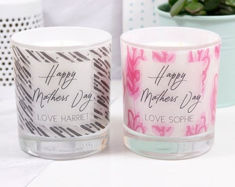 Mother's Day Scented Candle - Mother's Day Candle - Happy Mothers Day Gift - Scented Candle - Soya Wax Candle -  Personalised Candle
