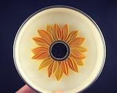 "Mini Quilled Paper Art Magnet : ""Sunflower"""