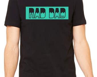 Rad Dad Tees Alternate Logo Tee, t-shirt, dad shirt, t shirt, gift for dad, dad stuff