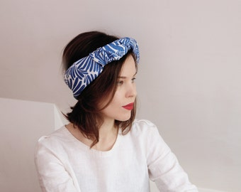 Womens linen head wrap, womens head scarf, womens hair scarf, linen bandana, CollectionWN