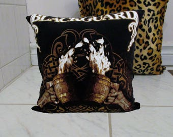 Blackguard Pillow DIY Folk Metal Decor 1 (Cover or Full PIllow)