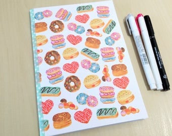 A5 Donuts Bullet Journal Notebook