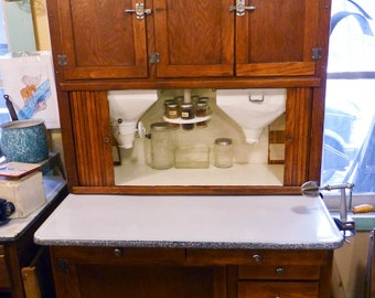 1908 Hoosier Special With Original Flour Sifter Sugar Bin