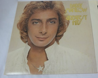 BARRY MANILOW Greatest Hits Vinyl LPRecord TWO (2) Album Set 1978 Arista