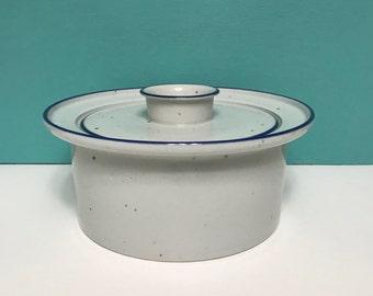Vintage Dansk Blue Mist Casserole Dish with Lid