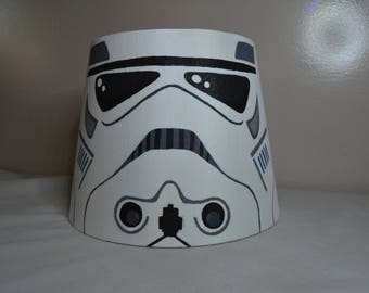Handpainted Storm Trooper Lamp Shade