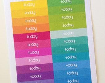 Planner Stickers - Header Stickers Today