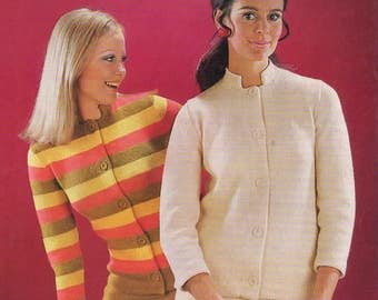 Lady's Knitted Suit, Wendy 777, Original Vintage Knitting Pattern.