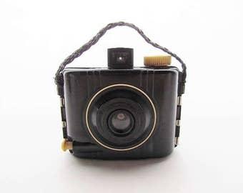 1940's Baby Kodak Brownie Special, Box-Style Bakelite Camera, Display, Prop