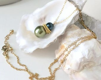 Pearl Necklace Wife-Girlfriend Gift Set-Mother in Law Gifts-Wife Pearl Jewelry-Bff Necklace-Jewelry For Fiance-Her Pearl Necklace-Bff Gift