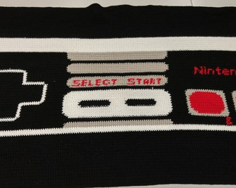 Classic NES Controller Blanket