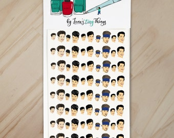 NKOTB Only Cue the Screams Handpainted New Kids on the Block Nail Art Decals