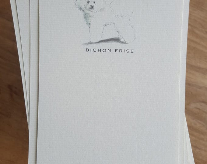 Bichon Frise Note Card Set