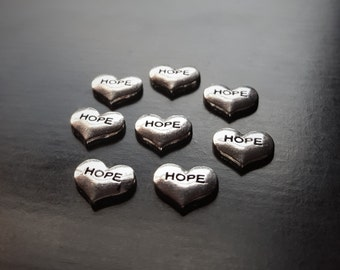 Hope Floating Charm for Floating Lockets-1 Piece-Fits All Brands of Floating Lockets-Great Gift Idea