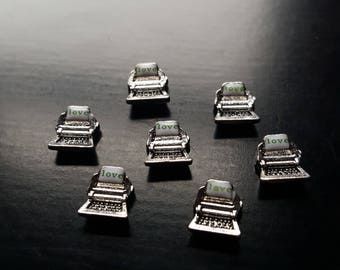 Typewriter Floating Charm for Floating Lockets-Gift Idea for Women