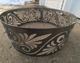 Greek inspired Fire Ring/ Fire Pit