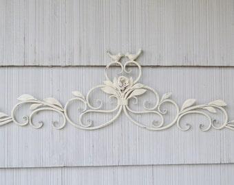 Nature Inspired Bird Wall Decor. Metal Bird Wall Decor. Metal Wall Decor. Bird Decor. Cottage Chic, Shabby Chic. Bird Decor