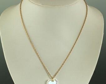 Avon E Necklace