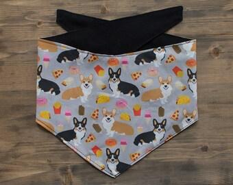 Corgi Dog Bandana, Corgi, Dog Bandana, Pet Accessories, Dog Scarf